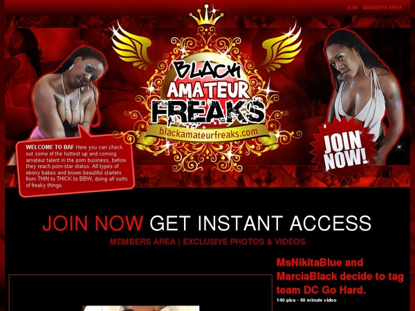 Black Amateur Freaks Member Passwords