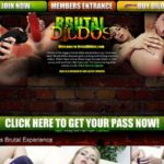 Brutal Dildos Porn Site