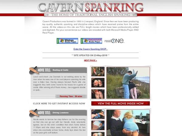 Cavern Spanking Updates