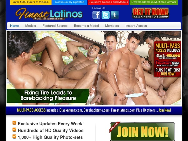 Finest Latinos Free Account And Password