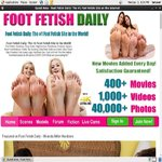 Foot Fetish Daily Join Form