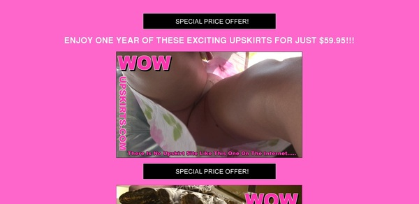 Free Account For Wow Upskirts