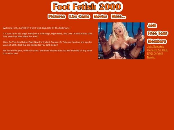 Get Foot Fetish 2000 Password