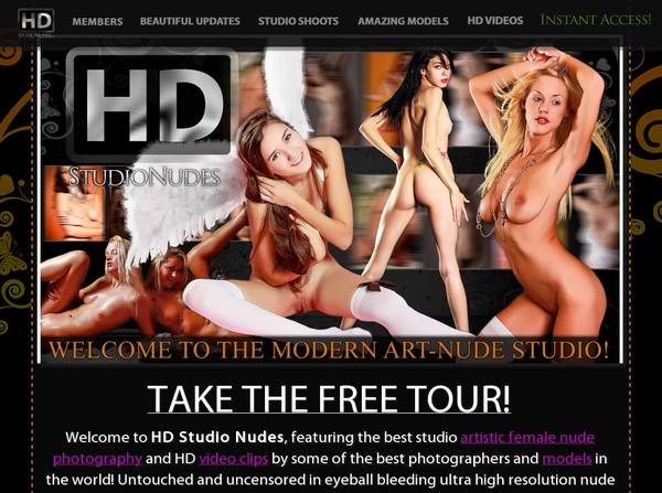 HD Studio Nudes Order