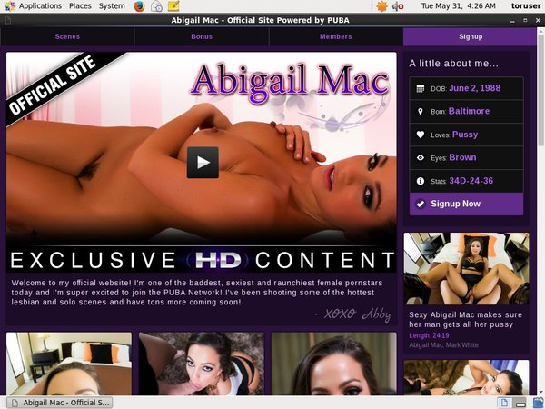 Passwords Abigailmac