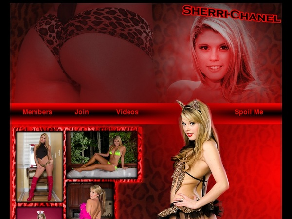 Username And Password For Sherri Chanel