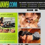 Free Tranny.com Username And Password