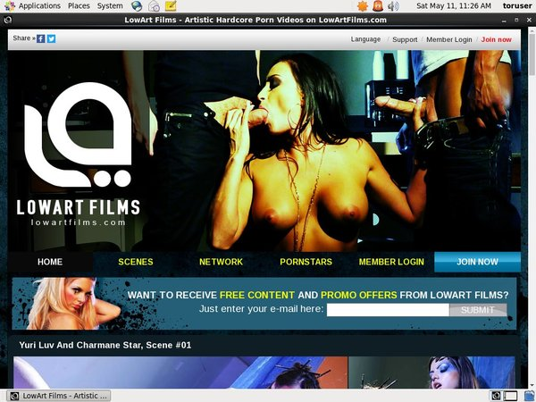 Lowartfilms.com Accounts