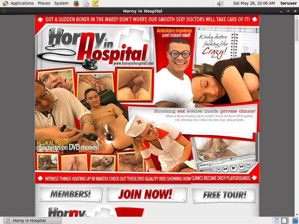 Accounts Of Hornyinhospital.com