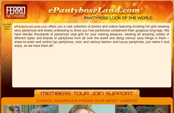 E Pantyhose Land Free Hd