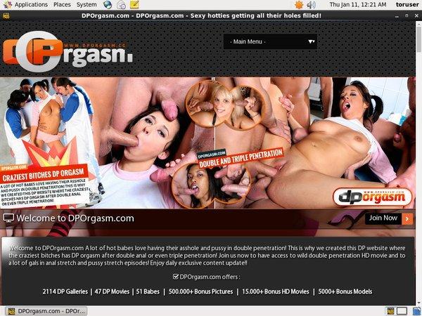 Free Dporgasm Video