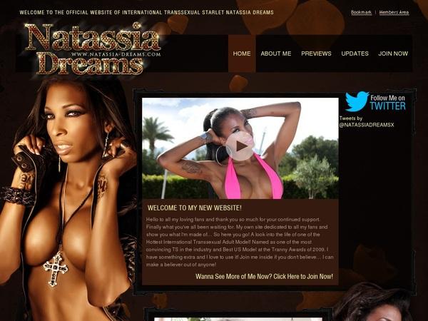 Natassia Dreams Free Membership
