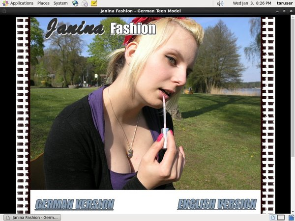 Janinafashion Premium Login