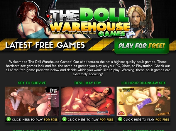 The Doll Warehouse Games Free