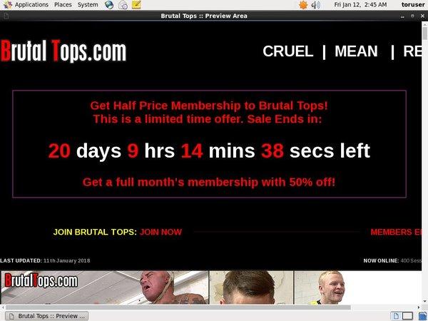 Brutaltops.com Passwords Free