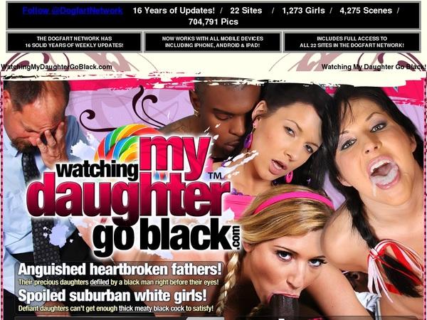 Watching My Daughter Go Black Account 2016