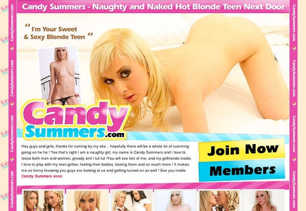 Free Premium Accounts For Candysummers