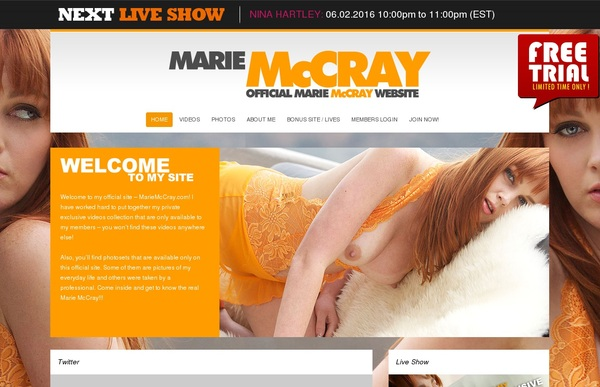 Marie Mccray Passwords Accounts