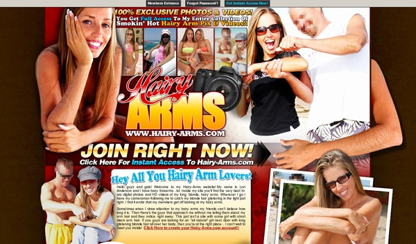 Free Accounts Hairy Arms